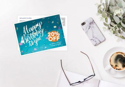 4 zones d'application pour le marketing réussi de carte postale